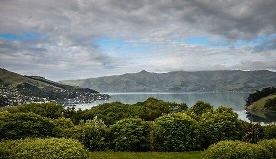 View on Akaora village by 29Breizh33