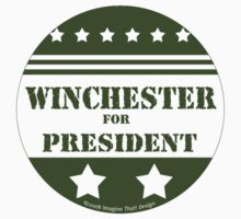 For President Winchester by Traci VanWagoner