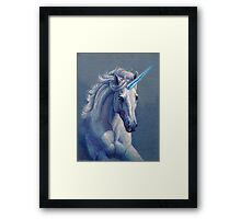 Jewel the Unicorn Framed Print