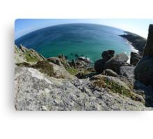 Cornwall Coastline Canvas Print