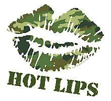 MASH Hot Lips Photographic Print