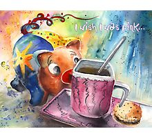 I Wish I Was Pink Photographic Print