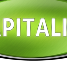 Capitalist Sticker