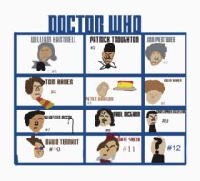 Doctor Who: 50 Years Through Time and Space by TheArcadeAddict