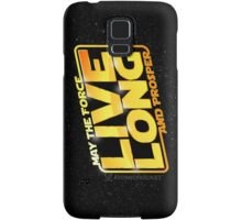 Live Long Forcefully Samsung Galaxy Case/Skin