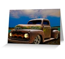 The Story of the Ratty Ford Pickup Greeting Card