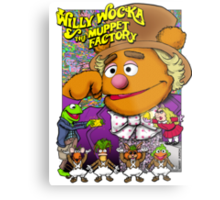 Willy Wocka and the Muppet Factory Metal Print