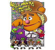 Willy Wocka and the Muppet Factory Photographic Print