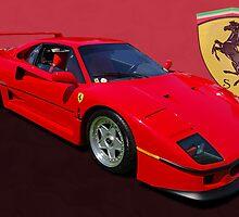 Ferrari F40 by TeaCee