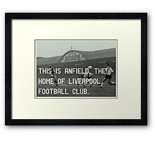 Liverpool Football Club Framed Print