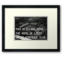 Leeds United Football Club Framed Print