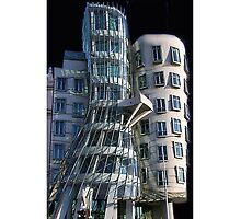 ♫ ♬ ♪ Dancing House Prague iPhone Case ♫ ♬ ♪ by ╰⊰✿ℒᵒᶹᵉ Bonita✿⊱╮ Lalonde✿⊱╮