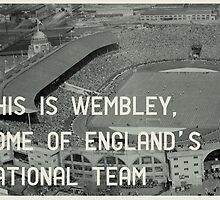 Wembley by Jim Roberts