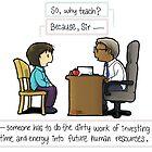Why Teach? by Achiru