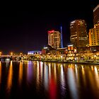 Melbourne on the Yarra by Paul Campbell  Photography