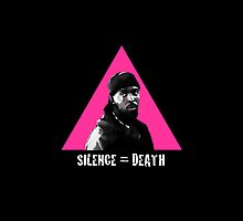 Omar Little: Silence = Death by MontiFoxPhoto