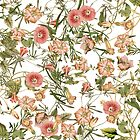Pink Bloom Collage by VintageLevel
