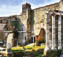 Forum of Augustus, Rome, Italy by buttonpresser