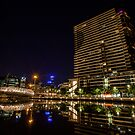 Reflections on the Yarra 2 by Paul Campbell  Photography