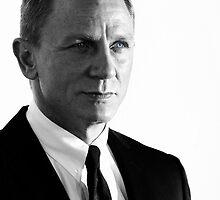007 - Daniel Craig - James Bond - 2012 by TrueloveStudios