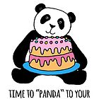 Panda Birthday Card for Gran by Micklyn2