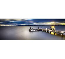 Romancing The Jetty Photographic Print