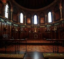 The Chancel, St James Anglican Church, Menangle, NSW by Ian Ramsay