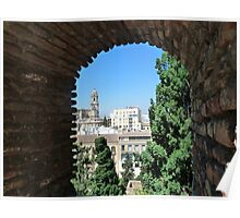 View to the Cathedral Poster