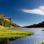 Allsop Lake in Utah by Alan Mitchell