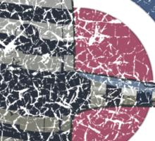 Vintage Fighter Plane Supermarine Spitfire Mark 19 Sticker