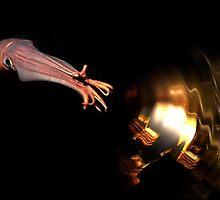 The effect of golden squid. by art-ZeST