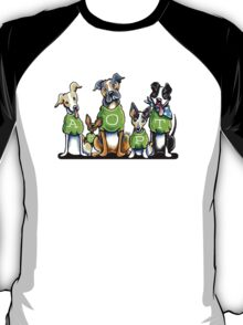 Think Adoption | Green Tee Shelter Dogs T-Shirt
