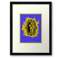 Apollo e Dafne Framed Print