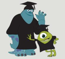 Monsters University - Graduation by stevebluey