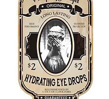 Weeping Angel Eyedrops by calvingreg09