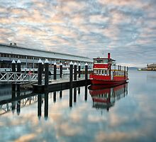 M.V. Emmalisa, Hobart, Tasmania by Chris Cobern