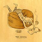 Tea Break by Nikita Horridge