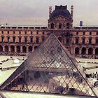 Glass Pyramid of Louvre by identit3a