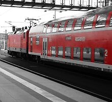 berlin train station by maydaze
