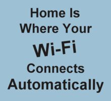 Home Is Where Your Wi-Fi Connects Automatically by Alex Russo