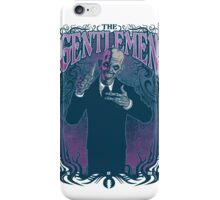 Gentlemen iPhone Case/Skin