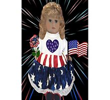 ☀ ツ DOLL FOURTH OF JULY IPHONE CASE☀ ツ by ╰⊰✿ℒᵒᶹᵉ Bonita✿⊱╮ Lalonde✿⊱╮