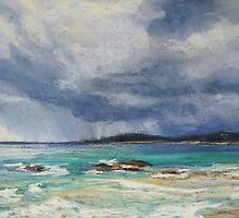 Storm over Arakoon, NSW by Terri Maddock