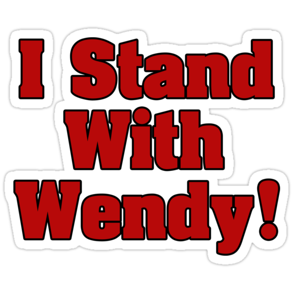 Stand With Wendy by Alsvisions