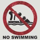 No Swimming - The Last Of Us by Joe Hickson