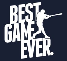 best game ever - baseball Kids Clothes