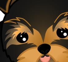 Cute Yorshire Terrier Puppy Dog Sticker