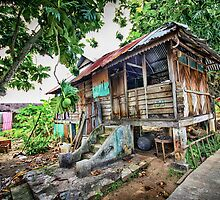 Old Wooden House HDR by Rizal Zawawi