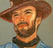 Clint Eastwood by Rhonda Rose
