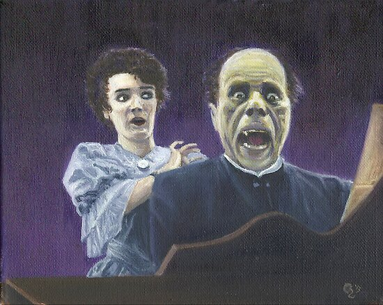 The Phantom Unmasked (Lon Chaney) by Conrad Stryker